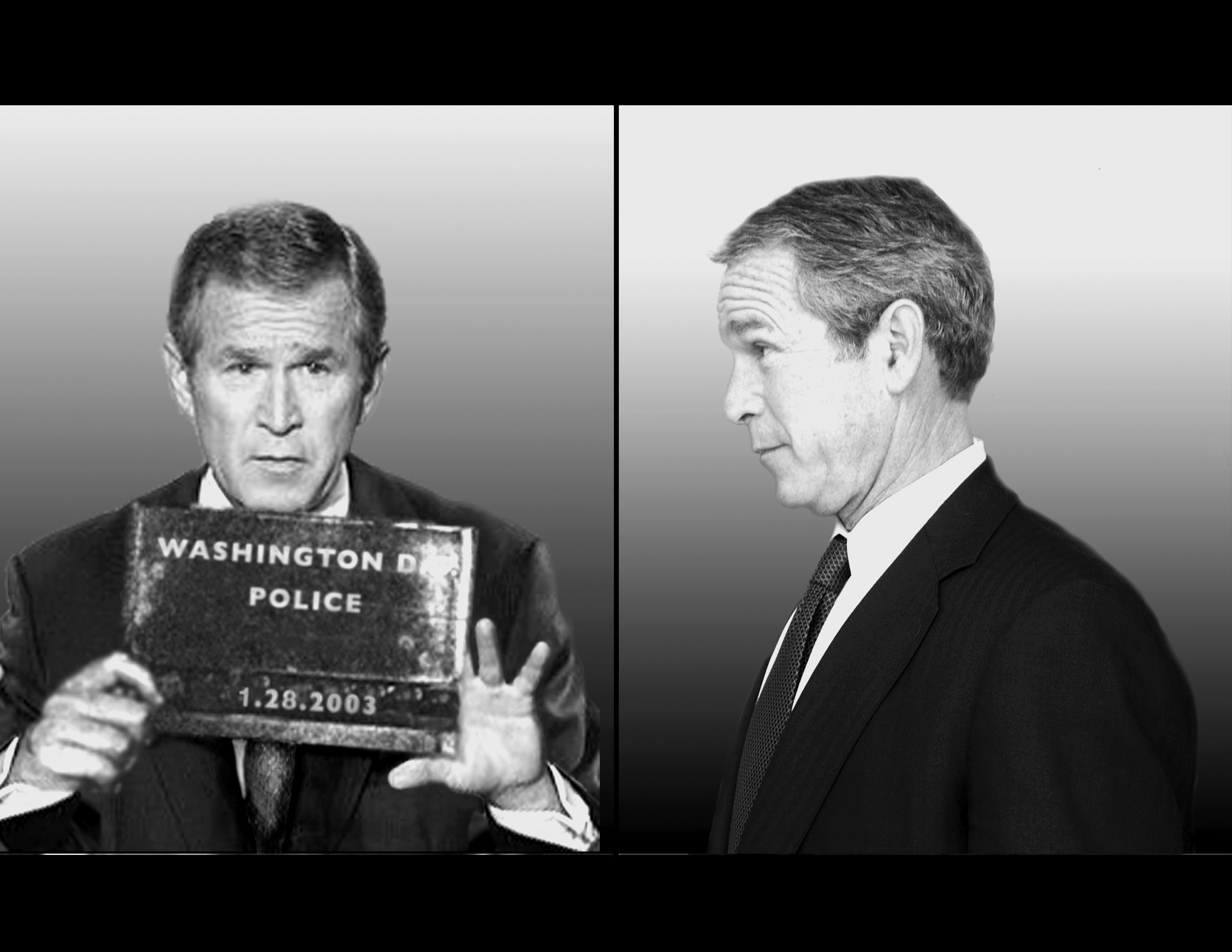 George W. Bush in Line Up (2006)