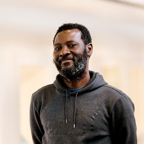 Portrait of Peter Owusu-Ansah